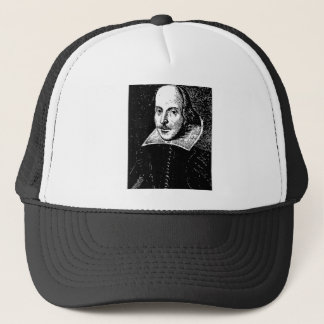 William Shakespeare Face Trucker Hat