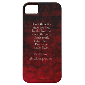 William Shakespeare Famous Love Quote iPhone 5 Covers