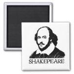 William Shakespeare Fridge Magnet