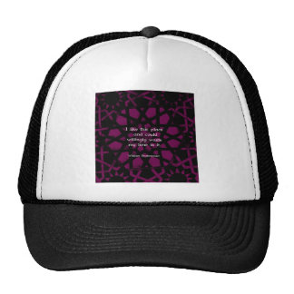 """William Shakespeare Funny Quote """"I like this place Mesh Hat"""