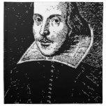 William Shakespeare hace frente Servilleta De Papel