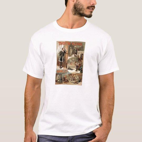 William Shakespeare Hamlet Play T-Shirt
