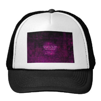 William Shakespeare Inspirational Destiny Quote Mesh Hat