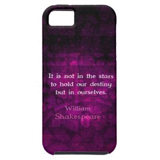 William Shakespeare Inspirational Destiny Quote iPhone SE/5/5s Case