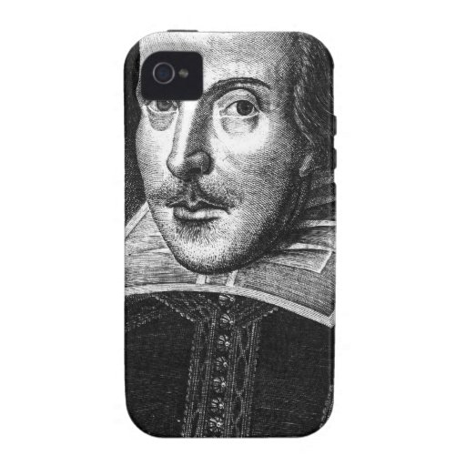William Shakespeare iPhone 4/4S Funda