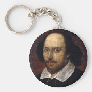 William Shakespeare Keychain