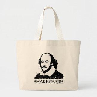 William Shakespeare Large Tote Bag