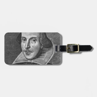 William Shakespeare Luggage Tags