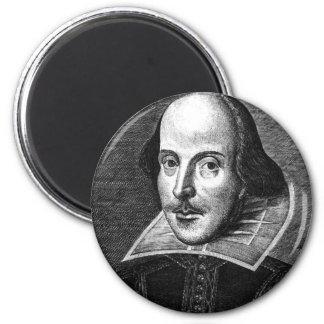 William Shakespeare Refrigerator Magnets