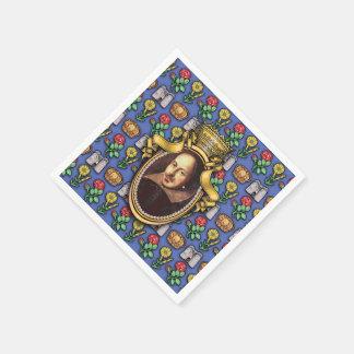William Shakespeare Napkin