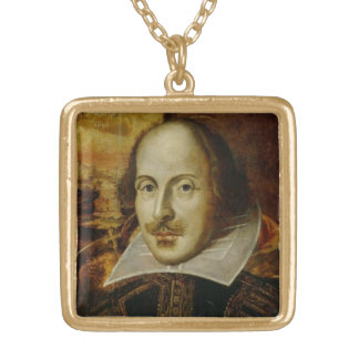 William Shakespeare Necklace Personalized Necklace
