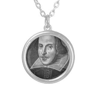 William Shakespeare Personalized Necklace