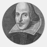 William Shakespeare Pegatinas