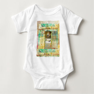 William Shakespeare picture customize with quote Baby Bodysuit
