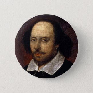 William Shakespeare Pinback Button