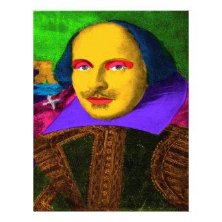 William Shakespeare Pop Art Letterhead
