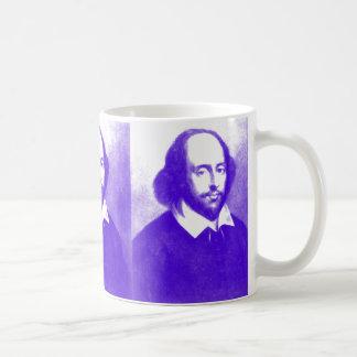 William Shakespeare Pop Art Portrait Coffee Mug