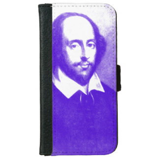 William Shakespeare Pop Art Portrait Wallet Phone Case For iPhone 6/6s
