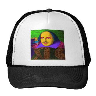 William Shakespeare Pop Art Trucker Hat