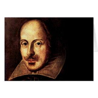 William Shakespeare Portrait Greeting Cards