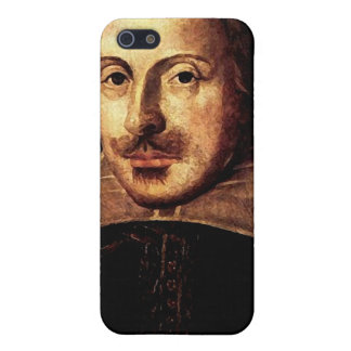William Shakespeare Portrait Cover For iPhone SE/5/5s