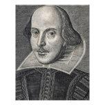 William Shakespeare Portrait Custom Letterhead