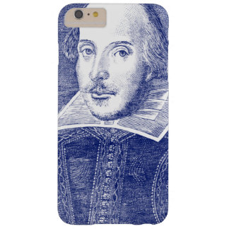 William Shakespeare Portrait from First Folio Barely There iPhone 6 Plus Case