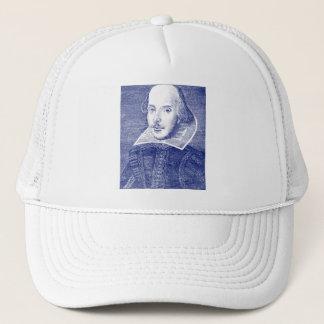 William Shakespeare Portrait from First Folio Trucker Hat