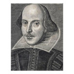 William Shakespeare Portrait Letterhead