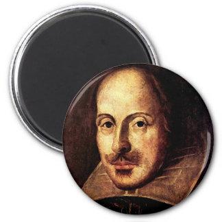 William Shakespeare Portrait Fridge Magnets