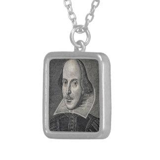 William Shakespeare Portrait Necklace
