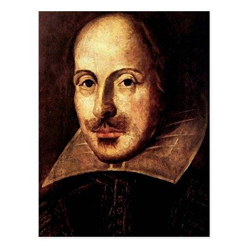 William Shakespeare Portrait Postcard