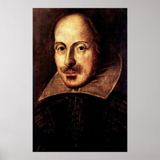 William Shakespeare Portrait Print