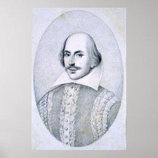 William Shakespeare, Portrait Poster