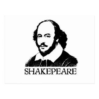 William Shakespeare Postcard