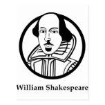 William Shakespeare Postcards