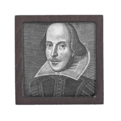 William Shakespeare Premium Trinket Boxes