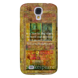 William Shakespeare QUOTE about Destiny Galaxy S4 Cases