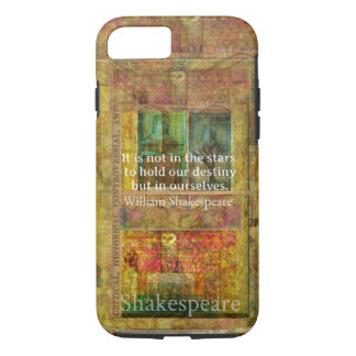 William Shakespeare QUOTE about Destiny iPhone 8/7 Case