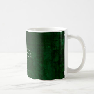 William Shakespeare Quote About Joy And Silence Coffee Mug