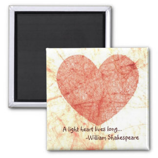 William Shakespeare Quote Magnet