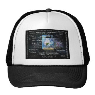 William Shakespeare quotes about love Mesh Hat