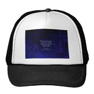 William Shakespeare Romantic Love Quote Hat