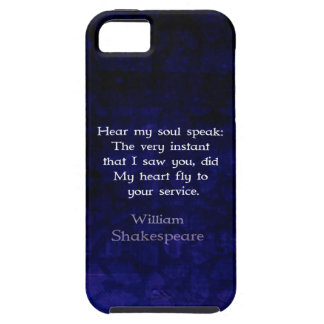 William Shakespeare Romantic Love Quote iPhone SE/5/5s Case