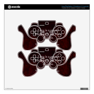 William Shakespeare Romeo and Juliet LOVE Quote Decal For PS3 Controller