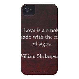 William Shakespeare Romeo and Juliet LOVE Quote iPhone 4 Case