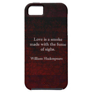 William Shakespeare Romeo and Juliet LOVE Quote iPhone SE/5/5s Case