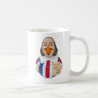 William Shakespeare Rubber Duck Mug