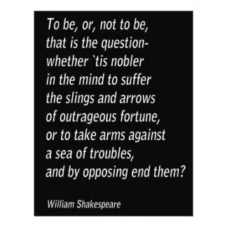 William Shakespeare`s `Hamlet` Letterhead