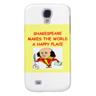 william shakespeare samsung galaxy s4 covers